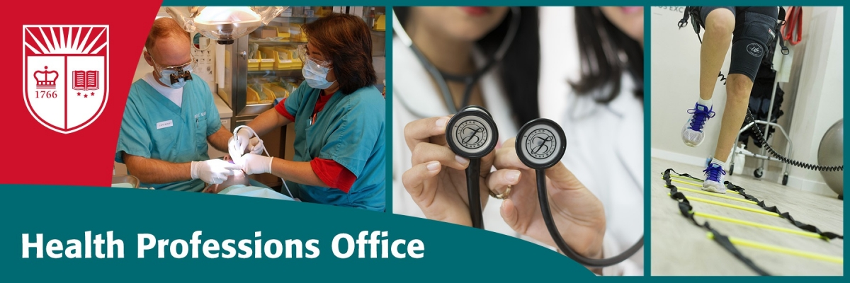 Health Professions Office banner